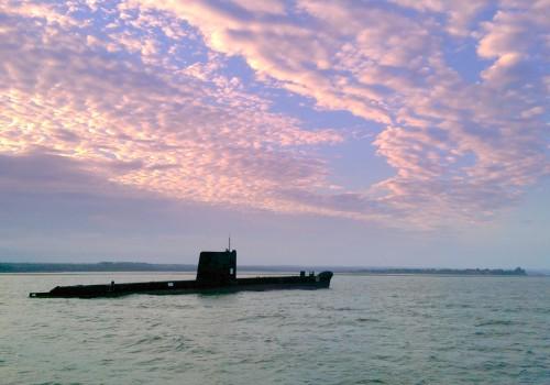 The HMAS Otama Submarine